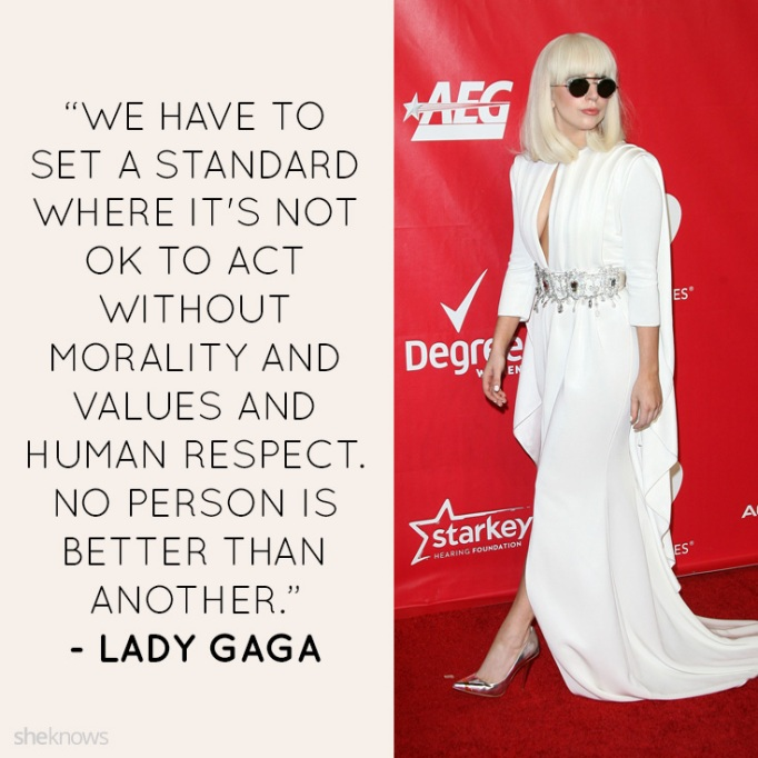 Lady Gaga quotes