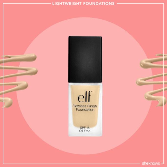 e.l.f lightweight foundation