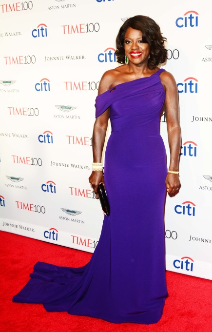 Viola Davis red carpet style: Time 100 Gala