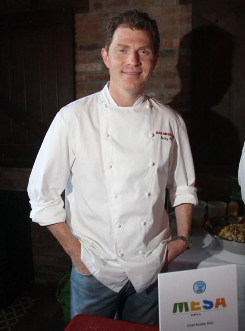 Bobby Flay at the Steven Scher Memorial Scholarship For Aspiring Restaurateurs Benefit