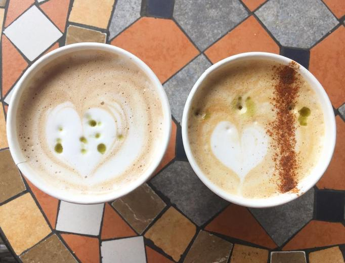 CBD Lattes from Green Goddess Cafe