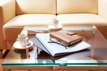 Declutter your coffee table