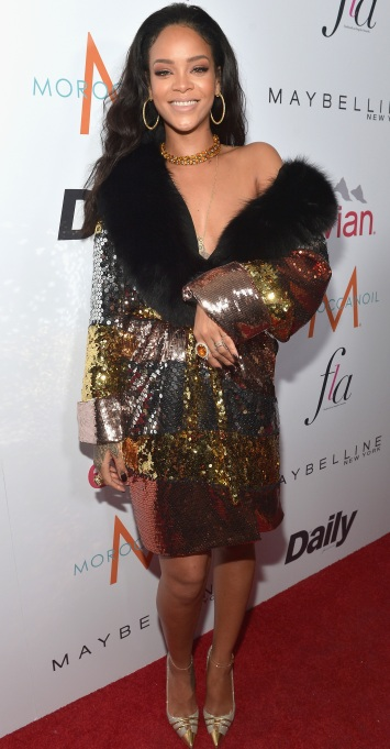 Rihanna Robe dress