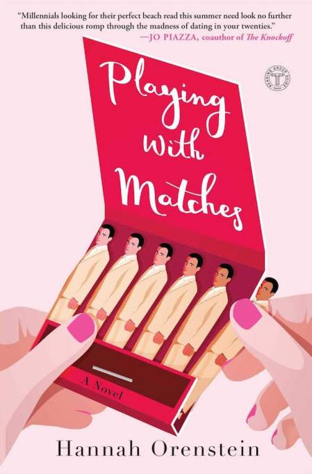 Cover art for Hannah Orenstein's 'Playing With Matches'