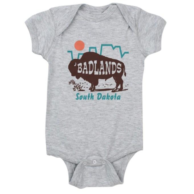 South Dakota Baby Onesie