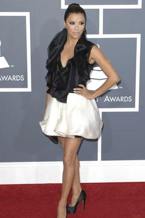 Eva Longoria at the Grammy Awards