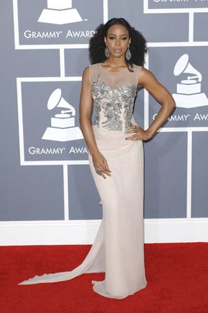 Kelly Rowland at the Grammy Awards