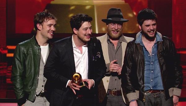 Grammy winners, Mumford and Sons