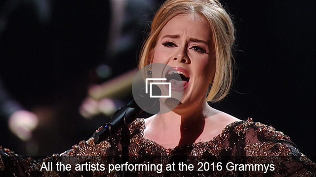 grammys 2016 performers slideshow