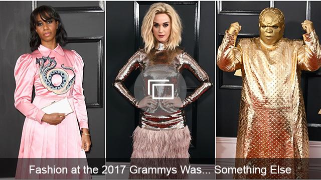 Grammys 2017 red carpet slideshow