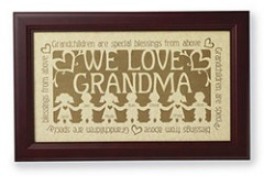 Grandparents art print