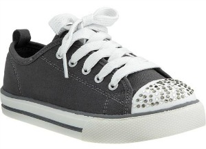 girls gray shoes