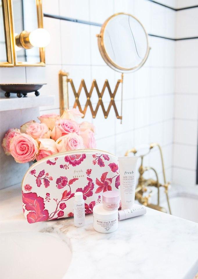 Sézane x Fresh La Vie En Rose Capsule Collection