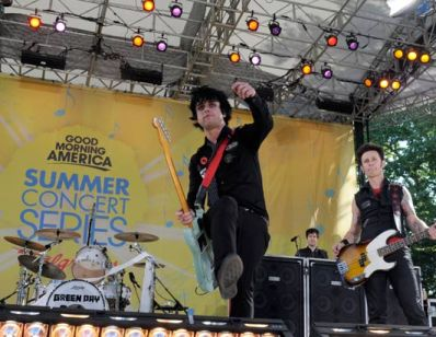 Green Day performs on GMA May 22