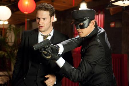 The Green Hornet first look starring Seth Rogan