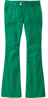 Old Navy Colored Slim Flare Jeans