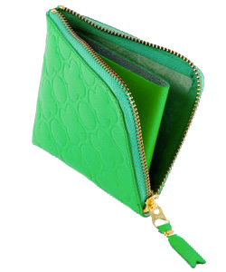 Green skinny belt