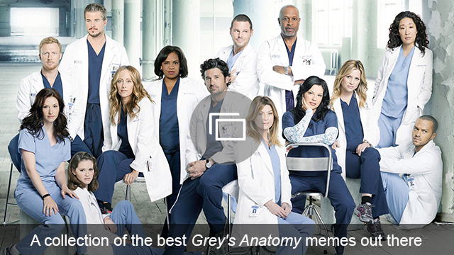 Grey's Anatomy memes slideshow