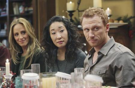 Grey's Anatomy new love triangle
