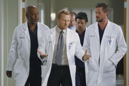 It's a man's world on Grey's Anatomy: