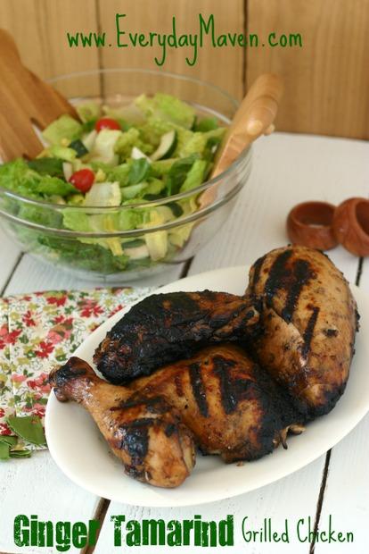 Ginger tamarind grilled chicken