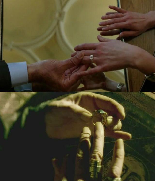 Grimm Adalind ring, Dumbledore horcrux ring