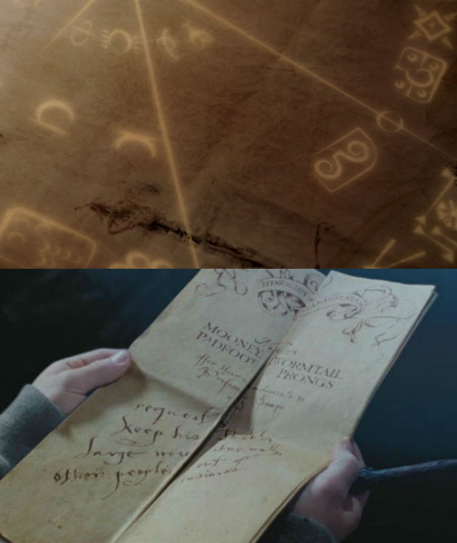 Grimm cloth and Marauders Map