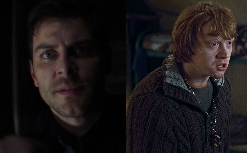 Nick Burkhardt and Ron Weasley