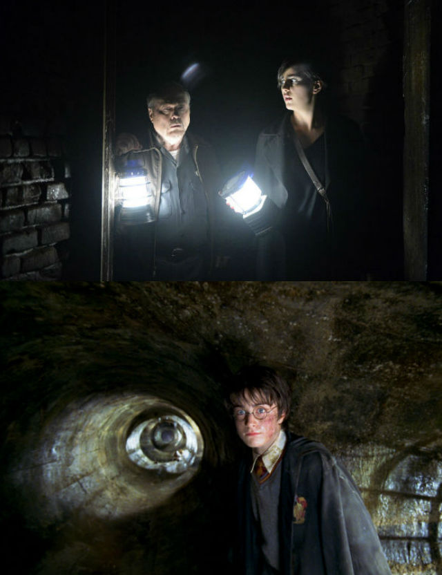 Grimm Tunnels, Harry Potter Chamber of Secrets