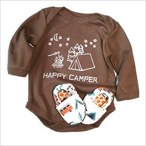 Growing Up Wild happy camper onesie | Sheknows.com