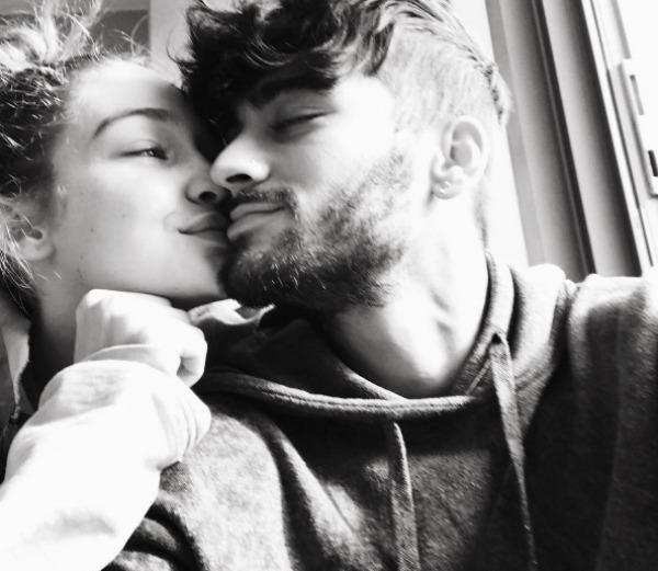 Celeb Couples Who Pack on the PDA: Gigi & Zayn