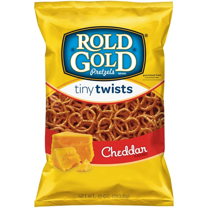 Rold Gold Tiny Twists Cheddar flavor
