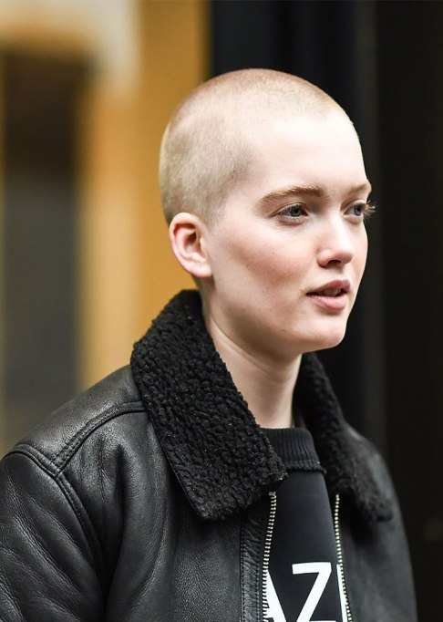 Ruth Bell Buzz Cut