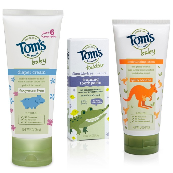 Beauty Brands with Baby Products: Tom's of Maine