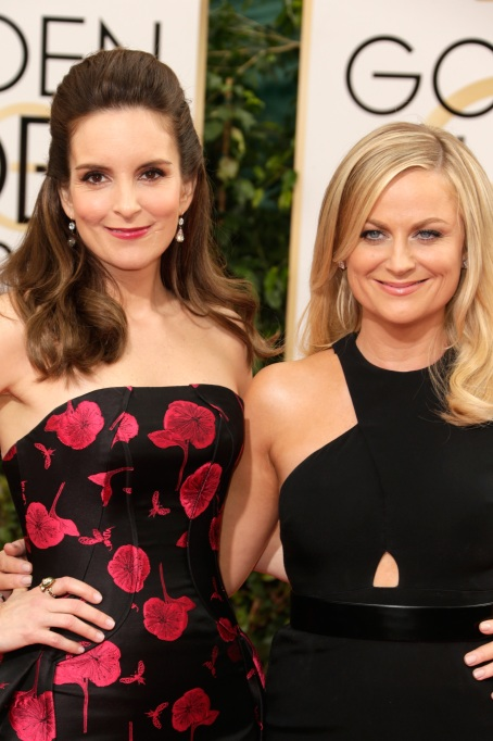 Tina Fey and Amy Poehler 2014 Golden Globes
