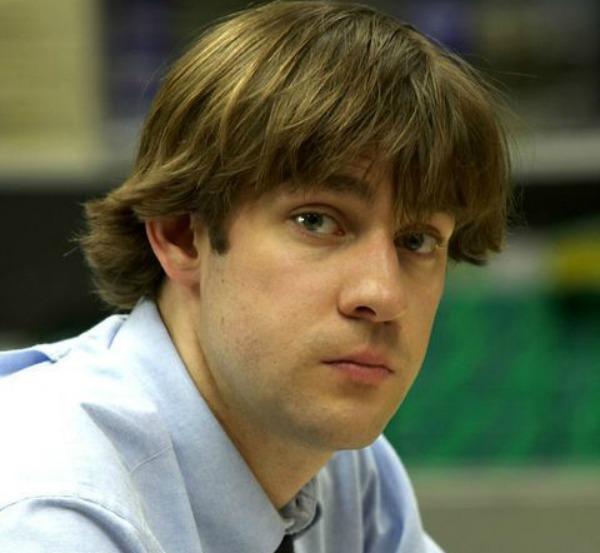 John Krasinski as Jim in 'The Office' Season 1