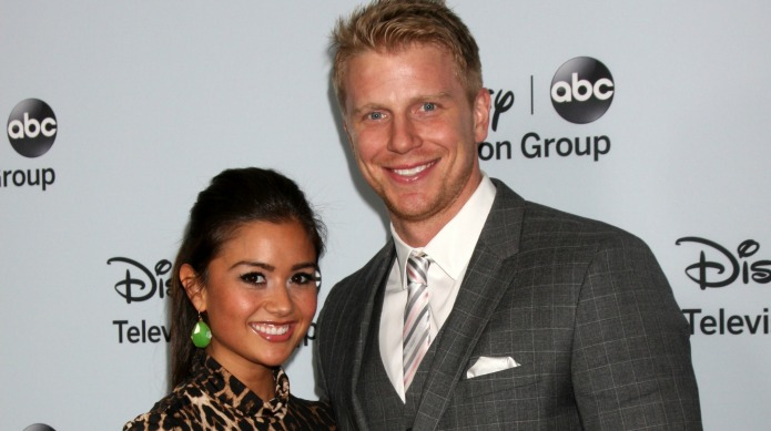 Catherine Lowe gets into a heated