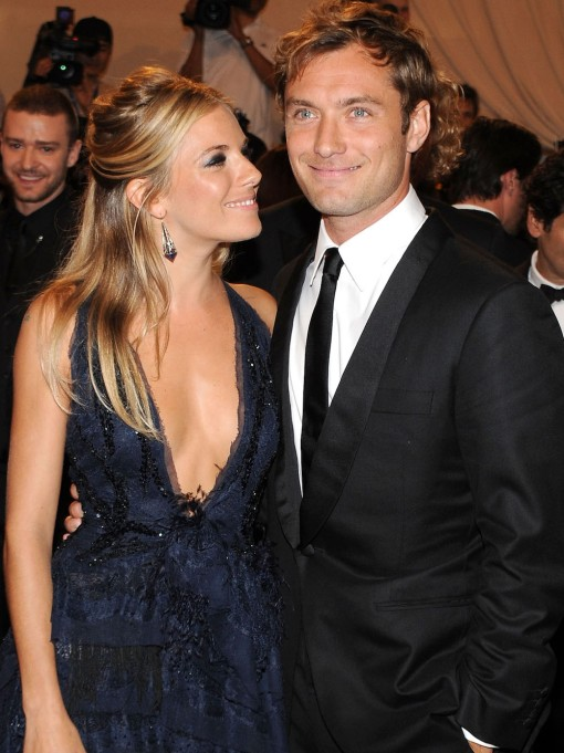 Jude Law and Sienna Miller 2010