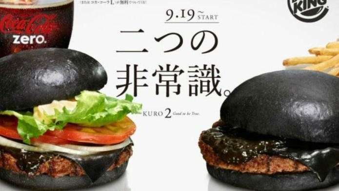 Yes, this is a black cheeseburger,