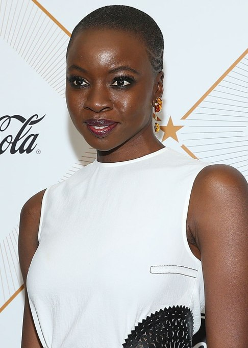 Danai Gurira Buzz Cut