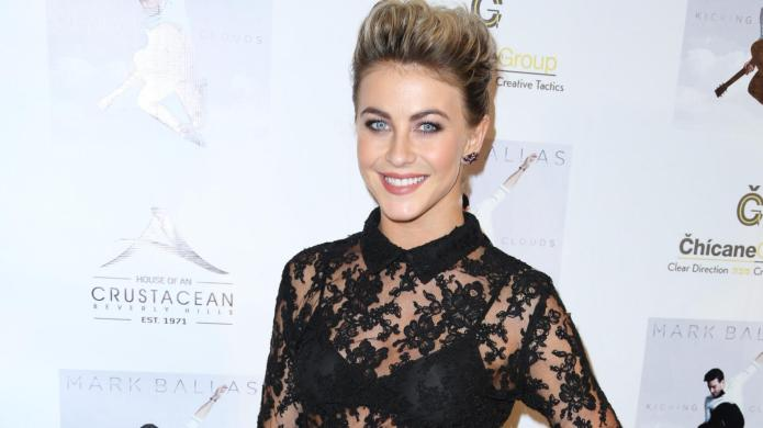 DWTS' Julianne Hough accidentally outs Jonathan