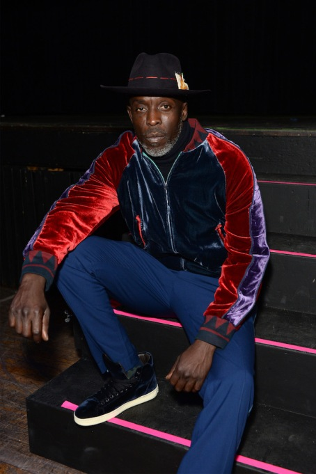 NYFW 2018 Celebrity Sightings: Michael K. Williams