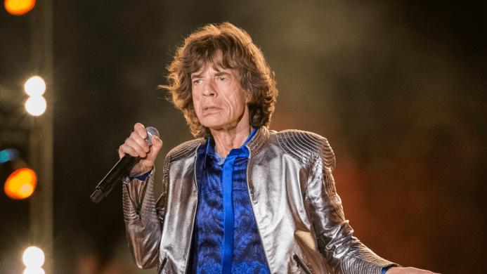 Mick Jagger met new gal pal