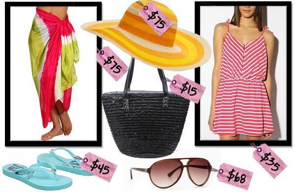 Summer sand and swim essentials