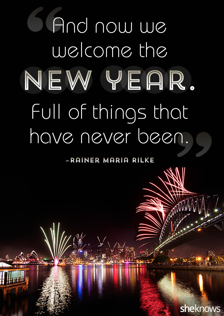new year quotes image design by terese condellasheknows image via getty images