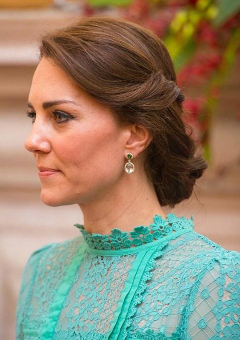 Kate Middleton style on royal tour of India
