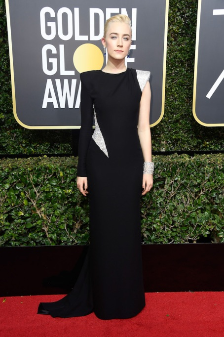 Best Golden Globes fashion 2018: Saoirse Ronan