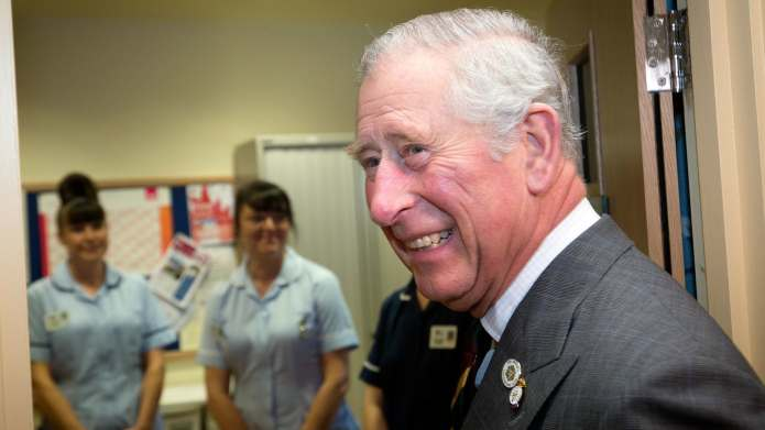 Prince Charles Is Actually the Cutest
