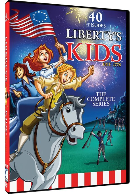 'Liberty's Kids' DVD cover