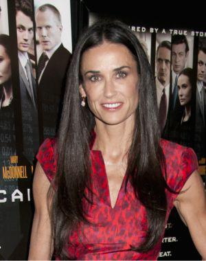 """""""Exhausted"""" Demi Moore drops out of"""
